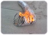 Mite_E_Ducts_Dryer_Vent_on_Fire